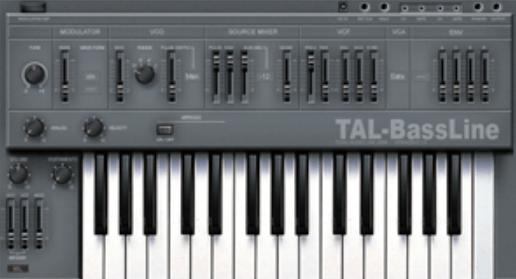Tal - Bassline plugin vst