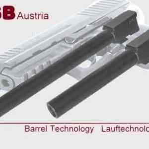IGB Austria Custom Barrel For HK P30 - 9x19 & 9x21 Caliber