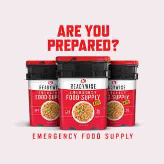 Readywise is ready for all your food supply needs.