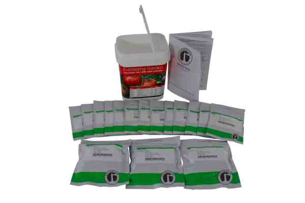 Preparedness Seeds for readywise survival buckets