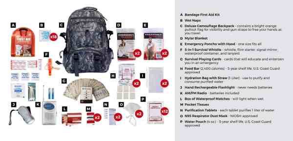 great bug out bag for 2