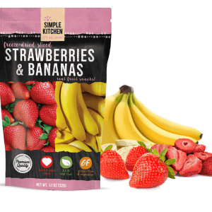 Simple Kitchen - Strawberry and Banana