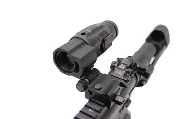 Aimpoint 3X-C Magnifier With Flip Mount And Twist Mount Base