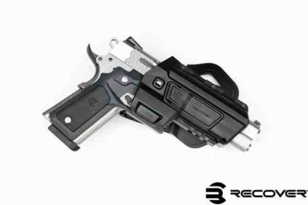 Recover Tactical - HC11 ACTIVE RIGHT BLACK FOR THE 1911 WITH  CC3H/P