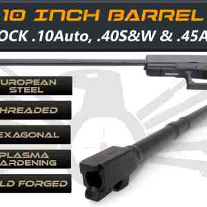 "Glock 41 .45acp caliber -10"" Threaded Barrel"