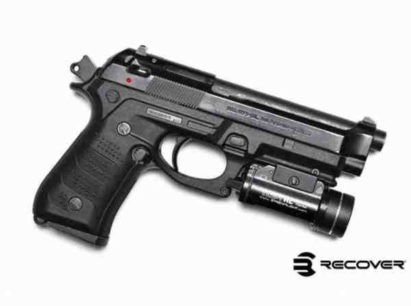 Recover Tactical - BC2 OLIVE DRAB BERETTA 92/M9 GRIP AND RAIL SYSTEM