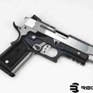 Recover Tactical - CC3P BLACK FRAME W/ BLACK AND PHANTOM PANELS 1911 GRIP AND RAIL SYSTEM