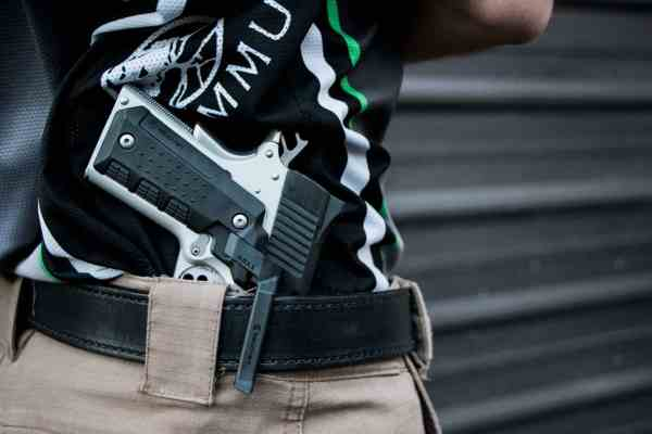 Recover Tactical - CG11 BLACK COMPACT 1911 CLIP AND GRIP