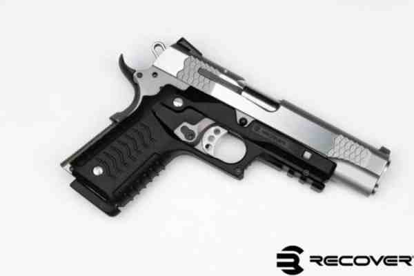 Recover Tactical - CC3H OLIVE DRAB 1911 GRIP AND RAIL SYSTEM