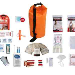 1 Person Survival Kit (72+ Hours) Waterproof Bag