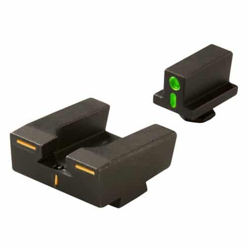 R4E ML12224O/G Meprolight Full Size Glock Orange Front & Green Rear Optimized Duty Sight