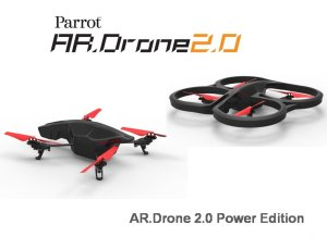 Quadcopters with camera - Parrot AR 2
