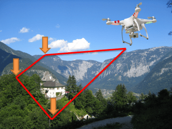 Waypoints - Quadcopter with camera