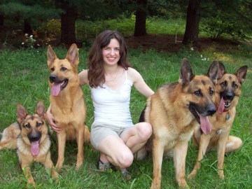 Sarah and GSDs