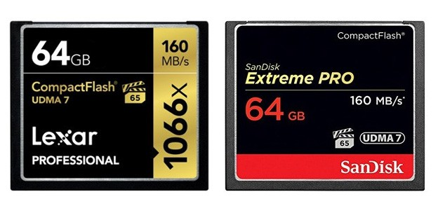 Best Compact Flash Memory Cards 2018 - Fastest CF Cards   Best ...