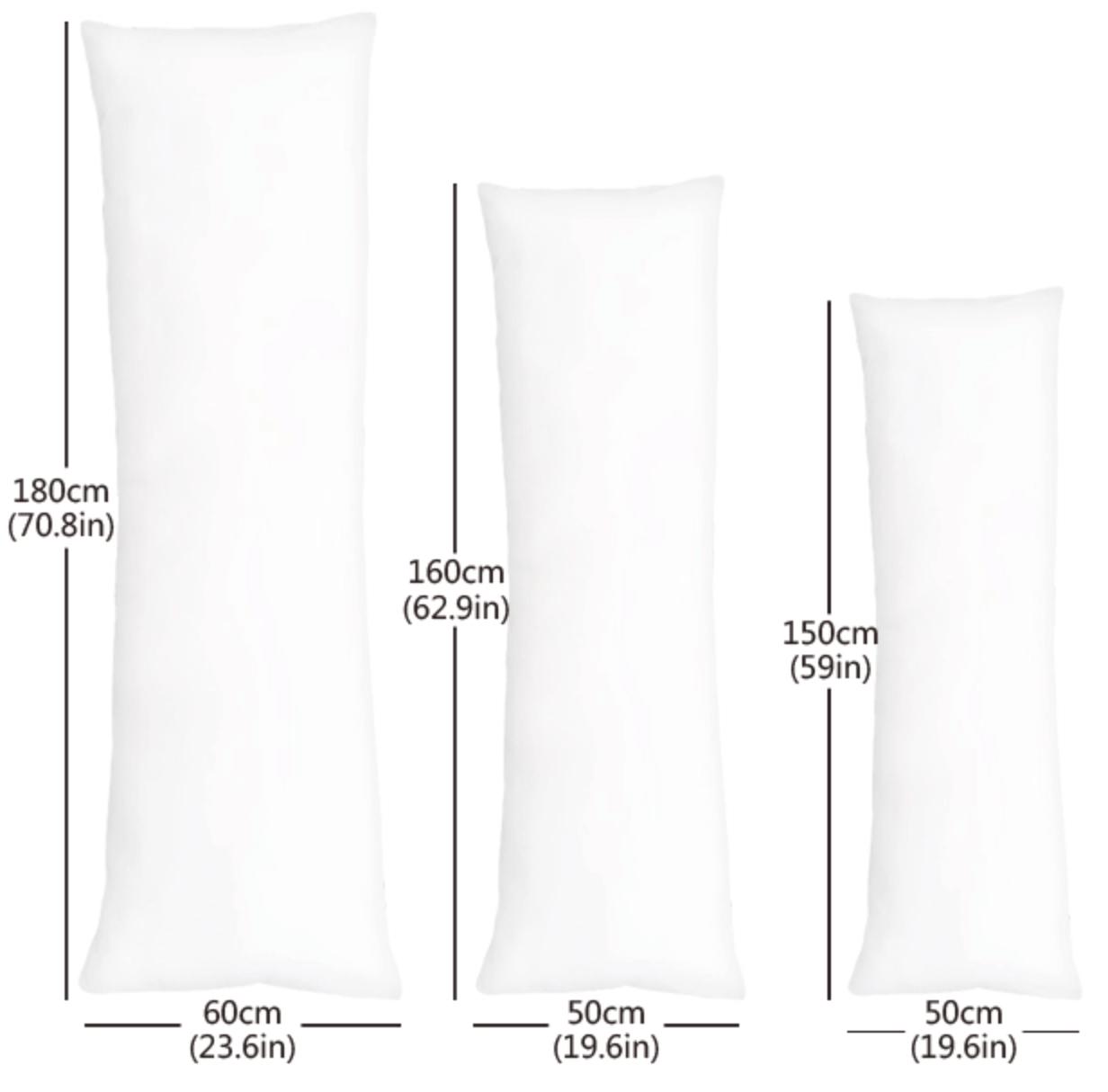 standard pillow and pillowcase size