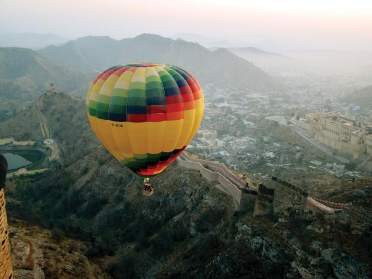 Ballooning over Jaipur, Rajasthan