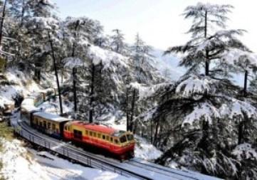 Toy train in Shimla