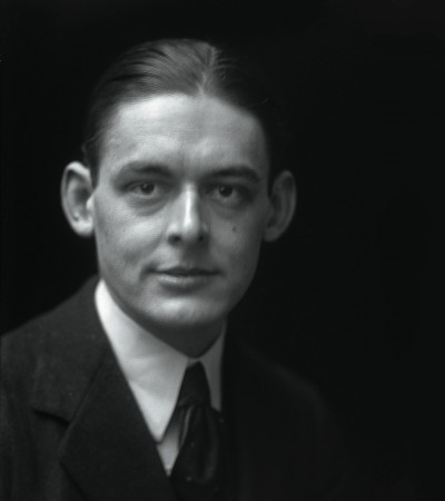 T.S. Eliot Photograph by E.O. Hopp/Corbis Images