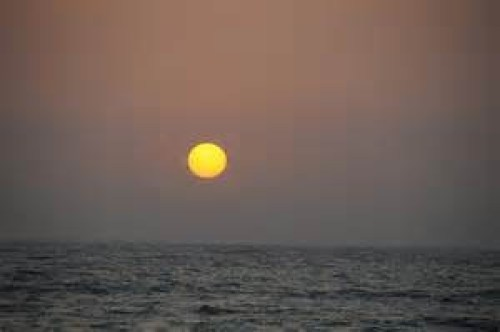 Sunset at Juhu Beach, Mumbai, India