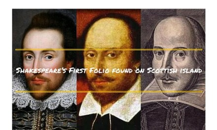 Shakespeare's First Folio found on Scottish island