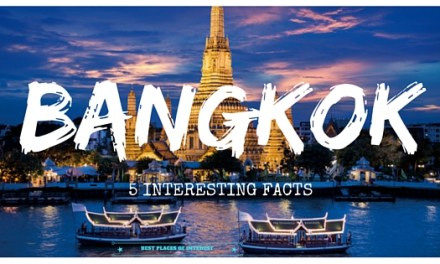 5 Interesting Facts about the city of Bangkok