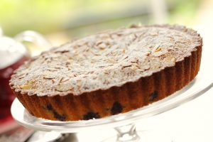 Blueberry recipes- Blueberry and almond tea cake