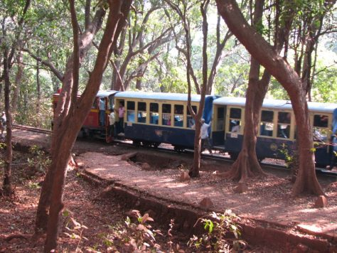 Narrow Guage journey-Toy train, Matheran
