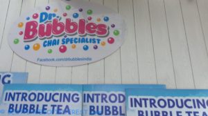 Bubble teas and waffles at Dr Bubbles Chai specialist
