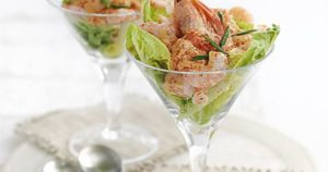 Classic Prawn Cocktail- recipes for Smorgasbord