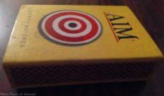 Aim matchbox