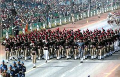 NCC Parade on Republic Day