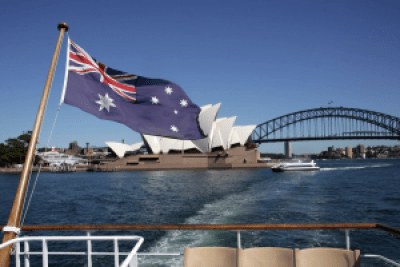 Sydney on Australia Day events