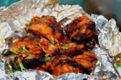 Roasted Indian Chicken fast food