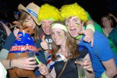 Party time on Australia Day