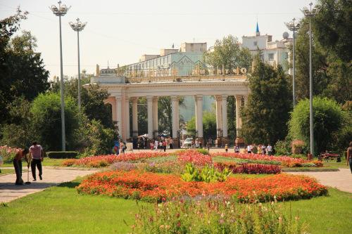 Gorky Park, Almaty, Kazakhstan