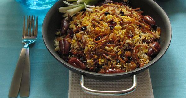 Reshteh Polow, Nowruz recipe