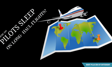 Where do pilots sleep during long haul flights?