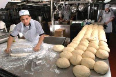 Baking their daily bread