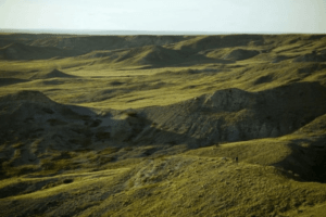 Grasslands National Park, campsites in Canada