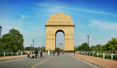 India Gate in Delhi, patriotic places of India