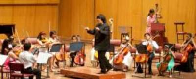 Students of NCPA Special Music Training Programme