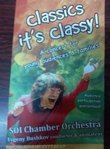 Classics its classy! a children's concert