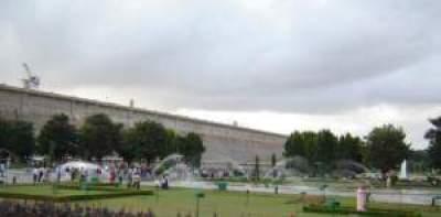 Krishnarajasagar dam near Mysore
