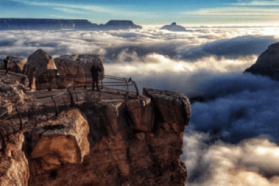 Grand Canyon National Park, Arizona. Dangerous National Park in America