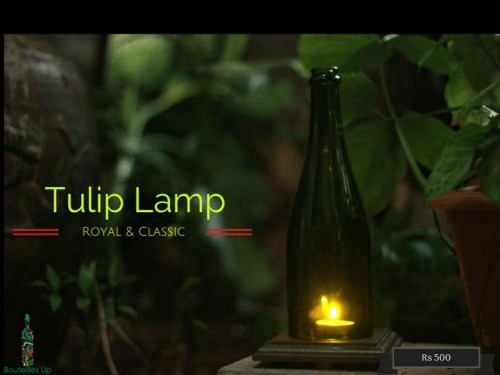 Tulip Lamp, eco-friendly Diwali gifts