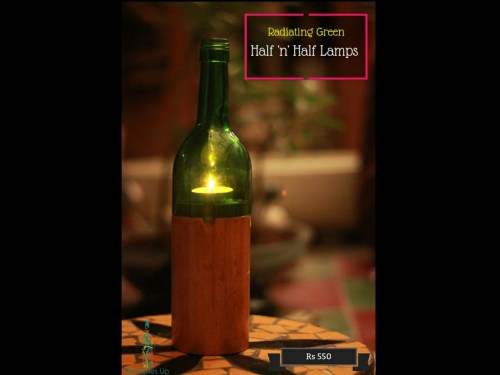 Half and Half Lamps, eco-friendly Diwali gifts