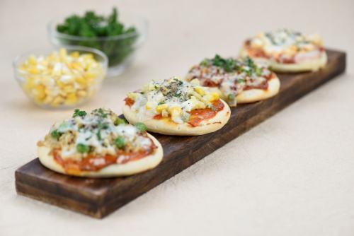 Mini pizzas, Diwali recipes