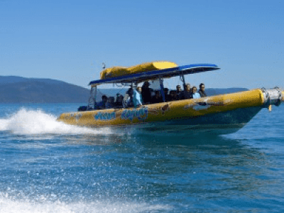 Ocean rafting- adventure activities in Australia