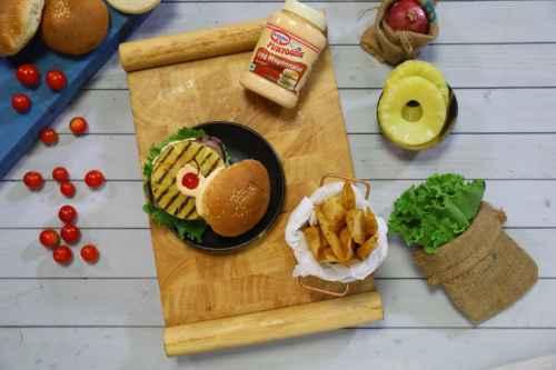 Hawaiian Veggie Burger, year end recipes